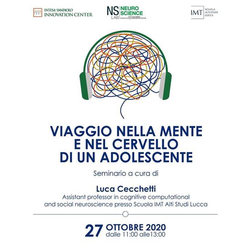 2020 10 27 NS LAB Workshop Viaggio nella mente e nel cervello di un adolescente locandina